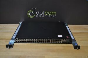 Dell Networking N3048p Layer 3 Switch 48 Ports Manageable Stack 1x Power Supply