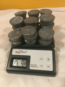 15lbs 0.8oz Lead ingots for bullet casting fishing sinkers hobby