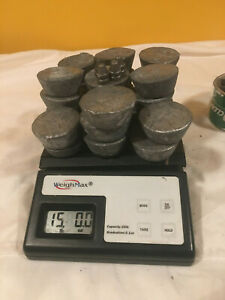 15lbs Lead ingots for bullet casting fishing sinkers hobby