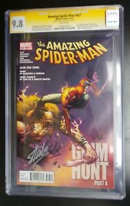 Amazing Spider-Man #637 Marvel Comic CGC SS 9.8 Double Signed by Stan Lee Twice