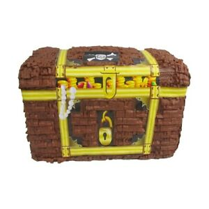 Pinatas for Pirates Party Game Decoration and Photo Prop Treasure Chest