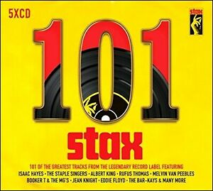 101 STAX HITS * NEW 5-CD Boxset * All Original CLASSIC SOUL from the 60's