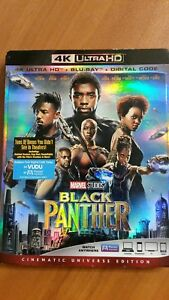 BLACK PANTHER !!! 4K ULTRA HD+ BR+DIGITAL CODE 😀No Sleeve
