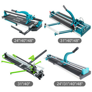 Manual Tile Cutter Cutting Machine 600mm/800mm/1000/1200mm Hand Laser Guide