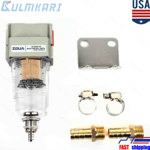 New Engine Oil separator Catch Can Reservoir Tank W/ Breather Filter Baffled US