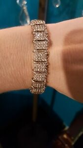 10 kt White Gold 7 Carat Diamond Tennis Bracelet