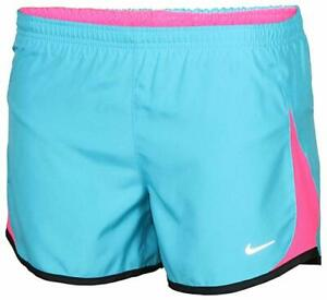 NEW Nike Running Tempo Dash Youth Girl's Size L Shorts 716734 418 Blue