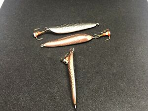 3pcs lot Lure quot;DOLPHINquot; Made in Latvia 60mm 27gr 2.36 inch 61 64 oz