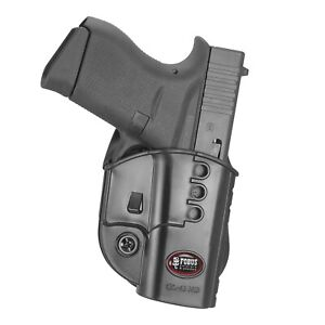 Fobus Evolution Paddle Holster Glock 43 GL43ND
