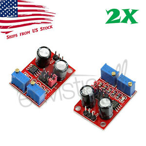 2Pcs NE555 Duty Cycle Pulse Frequency Adjustable Square Wave Generator Module 2X $6.49