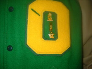 VINTAGE UNIVERSITY   OF OREGON LETTER JACKET