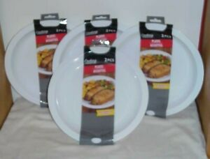 8 pc  Microwavable Plates, Safe for Microwave Use - NEW FREE SHIPPING