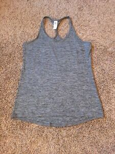Champion C9 Woman's Racerback Gray Tank Top Shirt Running Workout XL