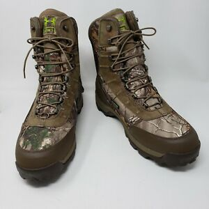 Under Armour Brow Tine GTX Hunting Boots 400g Mens Sz 13 Camouflage 1262049 946
