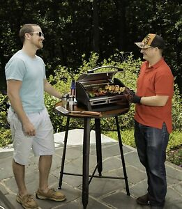 Portable Gas Grill Griddle Propane Camping Grill Tailgating Cookout Char Steak