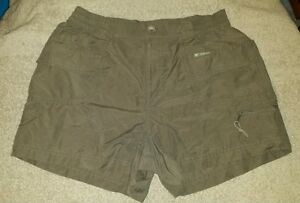Woman's petite small Columbia Brown running  hiking shorts