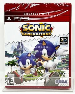 Sonic Generations PS3 Brand New Factory Sealed