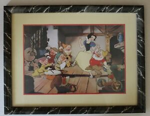 Disney's 1994 Snow White Framed Exclusive Commemorative Lithograph