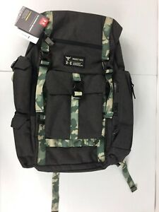 Under Armour Project Rock Regiment Backpack Bag In Camo - Rare 1315435-001
