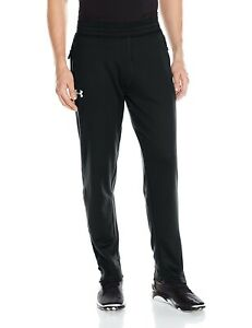(Small Black (001)Silver) - Under Armour Men's Tech Terry Pants