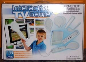 48 in 1 Wireless Interactive TV Game - Free USA Shipping!