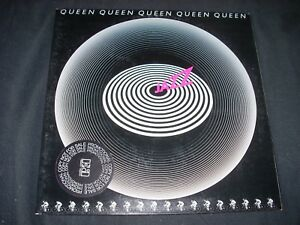QUEEN JAZZ LP Promo Label NM gatefold with original inner slv and bicycle poster