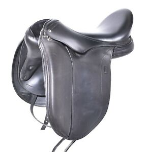 18'' SCHLEESE WAVE SADDLE (SO28259) FULL BUFFALO VERY GOOD CONDITION! - XVD