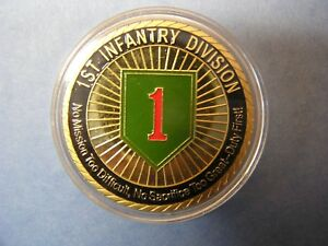 *Collectors Item One New 1st Infantry Division