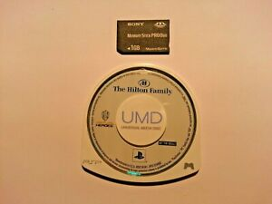 The Hilton Family Sony PSP UMD Game Collectors Item Rarest Sony Game Ever !