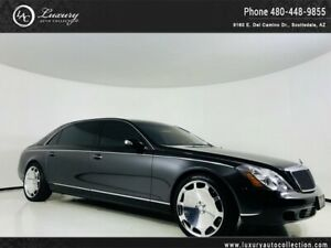 2004 Maybach 57 LWB Partitioned Sedan 480.418.6160 New 22 Wheels and Tires*No Paintwork*Studio Rear Audio*Finance