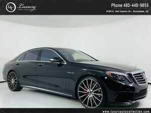 2014 Mercedes-Benz S-Class S 63 AMG 4Matic 480.418.6160 Rear Seat Pkg*Driver Assistance Pkg*Warmth And Comfort Pkg