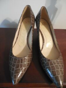 JOAN&DAVID Olive Patent Leather Shoes 9M  AND! Leslie Fay Accessories handbag