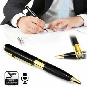 HD 1080P Spy Hidden Camera Pen Video DVDVR Camcorder Recorder Security Cam