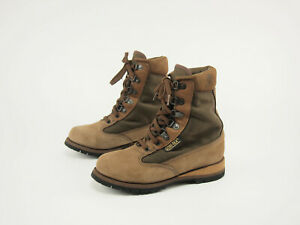 1990s ROCKY Vintage Leather GTX Thinsulate 8#x27;#x27; Winter Hunting Boots Womens 6