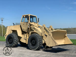 1985 Case M W24C ex military Wheel Loader NICE SHAPE 42 hours! 4 in 1 Bucket