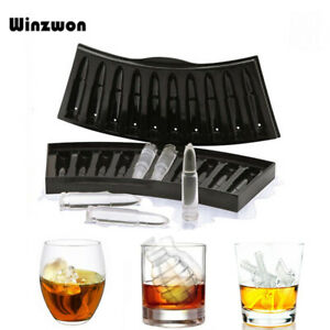 Creative Gun Bullet Skull Shape Ice Cube Maker DIY Ice Cube Tray Chocolate Mold