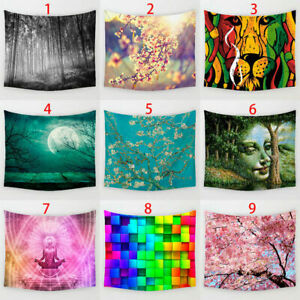Indian Mandala Tapestry Wall Hanging Hippie Towel Home Decor Bedspread Beach New