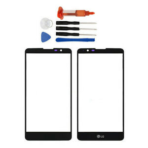 For LG Replacement Stylo 2 LS775 K520 K540 Front Glass Outer Screen Lens + Tools