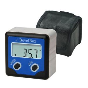 Digital Inclinometer Bevel Box Angle Finder Magnetic Base Protractor IP54 Rate $38.90