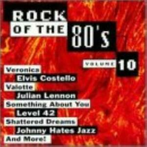Various Artists : Rock Of The 80s, Vol. 10 CD
