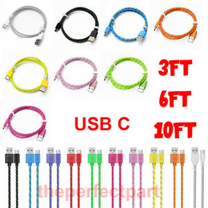 USB C Cable Type C Fast Charger For OEM Samsung Galaxy S8 S9 S10 Plus Note 8 10 $5.49