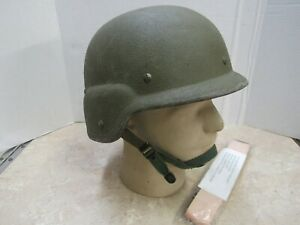 USGI Made With Kevlar Helmet PASGT LARGE Early Production 1980'S