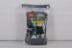Men's Hanes Tagless X-Temp Performance Cool Regular Length Boxer Briefs, 3/Pack