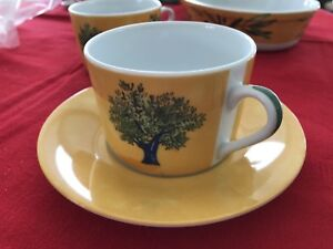 GUY DEGRENNE: Ouliveiro Tree: 7cup8saucers1baking dish