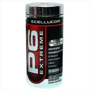 Cellucor P6 Red Extreme Advanced Stack- 120 Capsules - Free Shipping