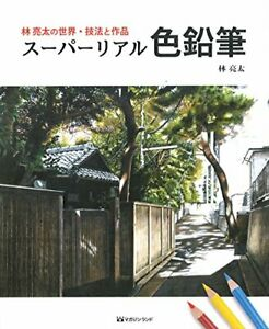 Ryota Hayashi's world techniques and works Super real color pencil JAPAN m1673