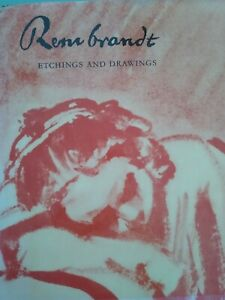 Rembrandt: Etchings and Drawings by Prof. Stech 1963 26 etchings amp; 30 drawings $49.95