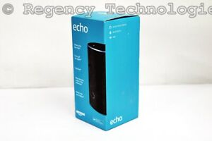 AMAZON ECHO SECOND GENERATION  B06XCM9LJ4  BLACK CHARCOAL  FACTORY SEALED