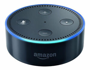 Amazon Echo Dot (2nd Generation) Smart Speaker with Alexa - Black