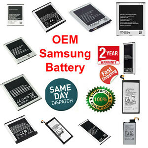 OEM SPEC Battery Replacement For Samsung Galaxy Original Note S4 S5 S6 S7 S8 S9 $7.89